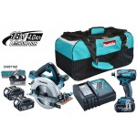 DLX2085M 18V plus 18V Li-Ion Cordless Circular Saw / 18V Impact Driver - DLX2085M Kit